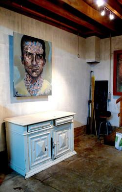 Lukas Huile sur toile / Oil on canvas 120 x 100 cm
