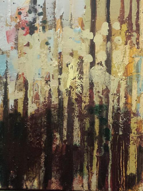35 x 27 cm Huile sur toile