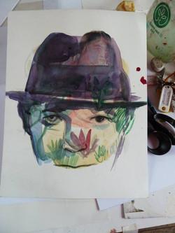 aquarelle sur papier 30 x 20 cm