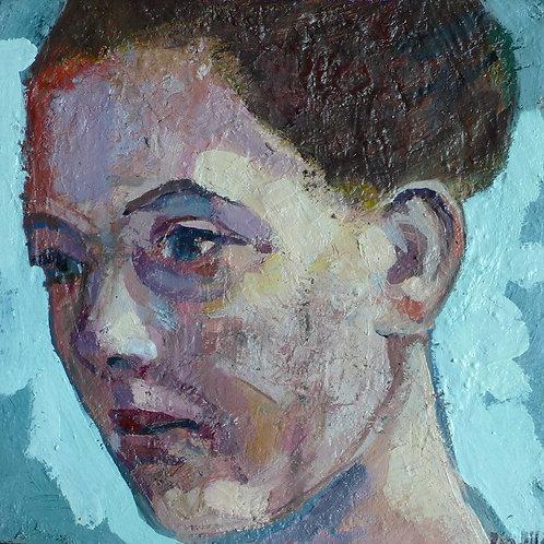 DANNY 20 x 20 cm huile sur toile