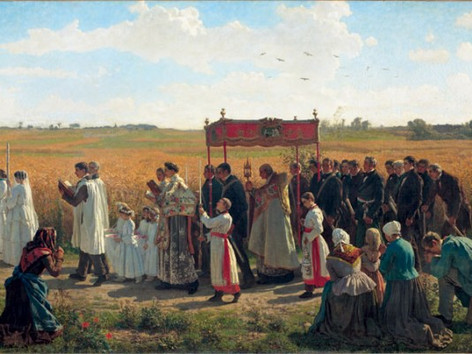 Mass for Rogation Sunday, the Sixth Sunday of Easter at 3PM on May 17th