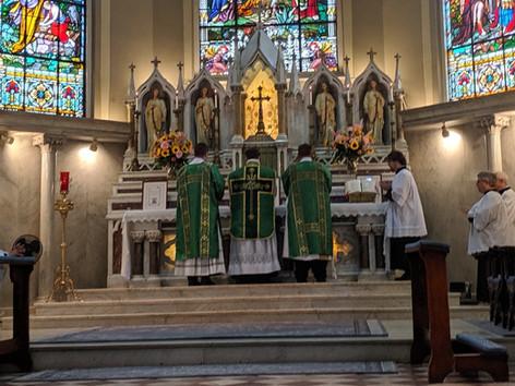 Sunday masses