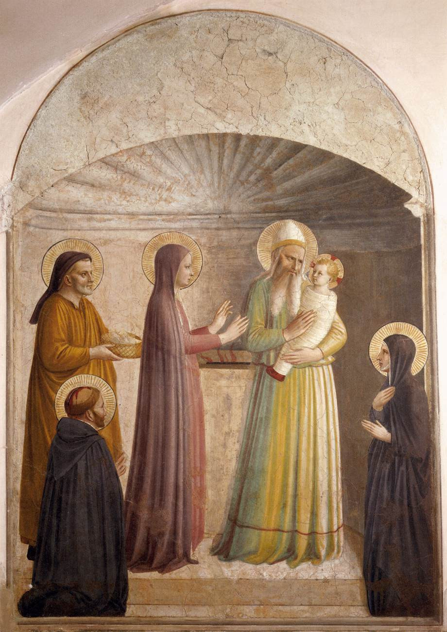 Fra Angelico - Presentation of Jesus in the Temple