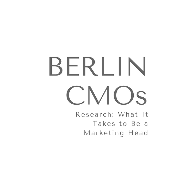 Finding a Mentor in Berlin by Contacting 100 CMOs