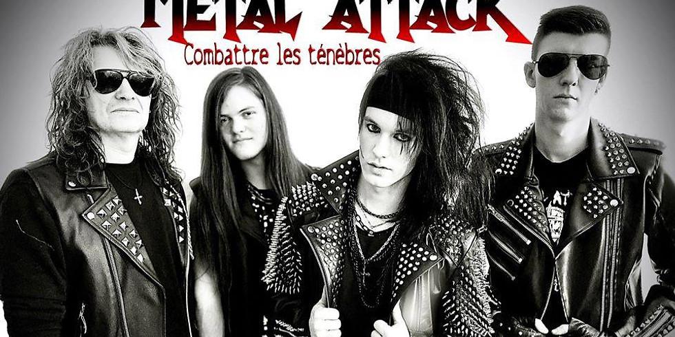 Concert Metal Attack+Brutal Stoner