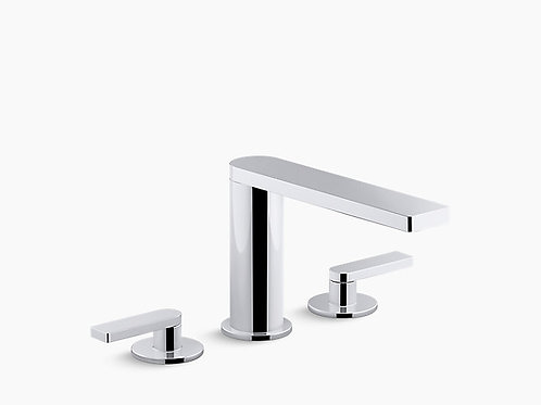 Composed® | Widespread bathroom sink faucet with lever handles