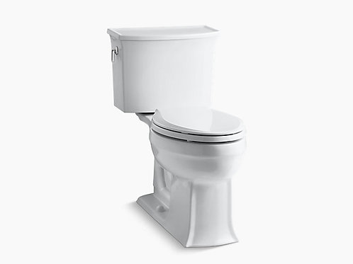 Archer® | Comfort Height® two-piece elongated 1.28 gpf toilet with AquaPiston®