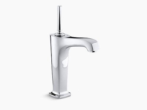 Margaux® | صنبور حوض حمام طويل بفتحة واحدة مع صنبور 6-3 / 8 بوصة وذراع