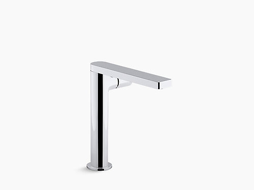 Composed® | Tall single-handle bathroom sink faucet with pure handle