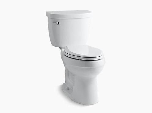 سيمارون® | كومفورت هايت® مرحاض من قطعتين ممدود سعة 1.6 لتر مع أكوابستون®