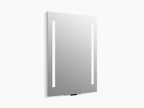 Verdera ™ | مرآة مضاءة بالصوت مع Amazon Alexa ، مقاس 24 بوصة × 33 بوصة ارتفاع