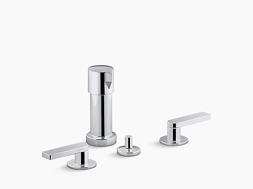 Composed® | Widespread bidet faucet with lever handles
