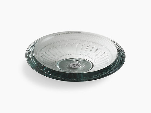 Pallene® | Vessel glass bathroom sink