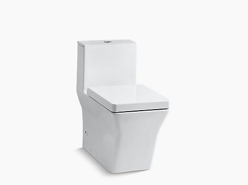 Rêve® | Comfort Height® one-piece elongated dual-flush toilet with top actuator