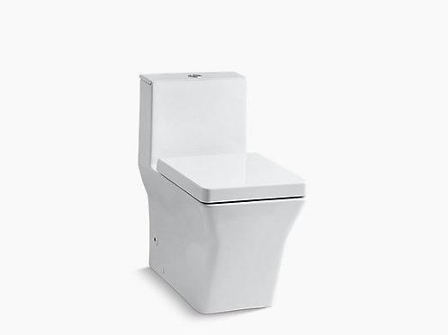 ريف® | مرحاض كومفورت هايت® من قطعة واحدة ممدود مزدوج التدفق مع مشغل علوي