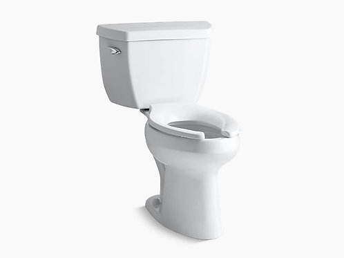 Highline® | Classic Comfort Height® two-piece elongated 1.6 gpf toilet