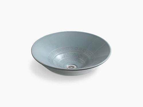 Caravan® Nepal on Conical Bell® | Vessel bathroom sink