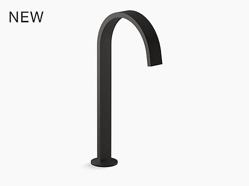 Components™ | Tall bathroom sink spout with Ribbon design