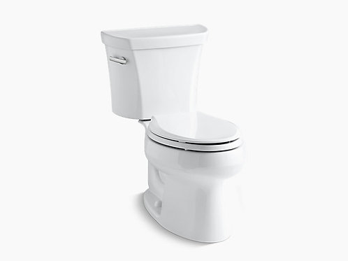 Wellworth® | Two-piece elongated 1.28 gpf toilet with Class Five® flush tech