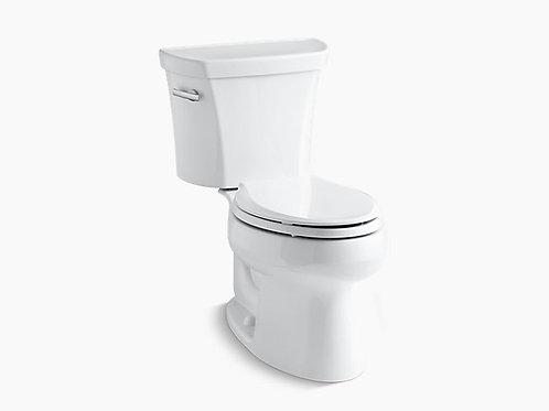 ويلورث® | مرحاض مستطيل من قطعتين بسعة 1.28 جالونًا في الثانية مزودًا بتقنية التدفق من الدرجة الخامسة