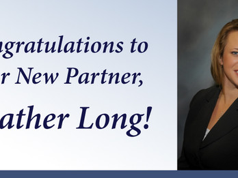 Kimmel Carter Welcomes Heather Long as First Female Partner in Firm's History