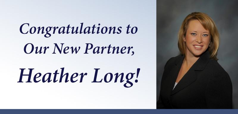 Heather Long Partner Kimmel Carter