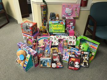 Kimmel Carter Organizes Toy Drive for the Ronald McDonald House of Delaware