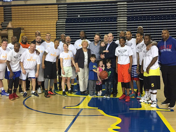 Personal injury attorneys at Kimmel Carter support Blue-Gold All-Star Basketball Games