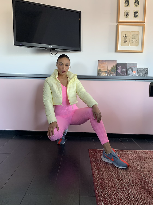 Brazilian sportsuit pink