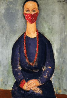 Le collier rouge-Modigliani
