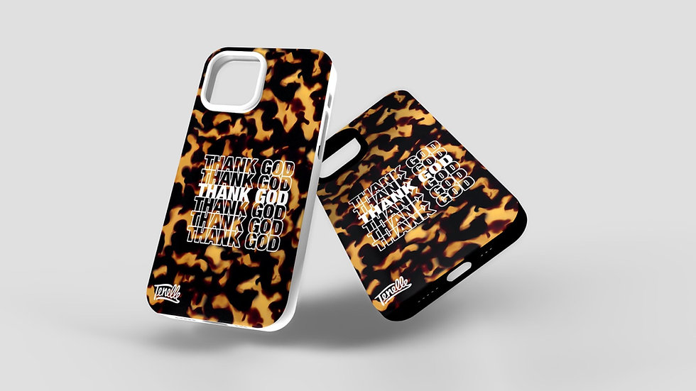 THANK GOD - Laumei (Turtle) Shell Phone Case