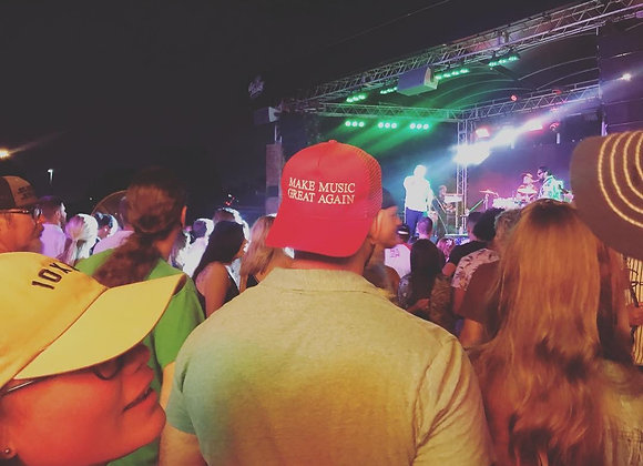 Make MUSIC Great Again Trucker