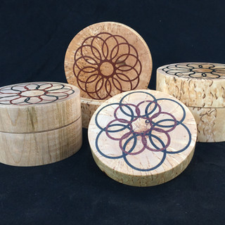 Sycamore and Masur Birch boxes