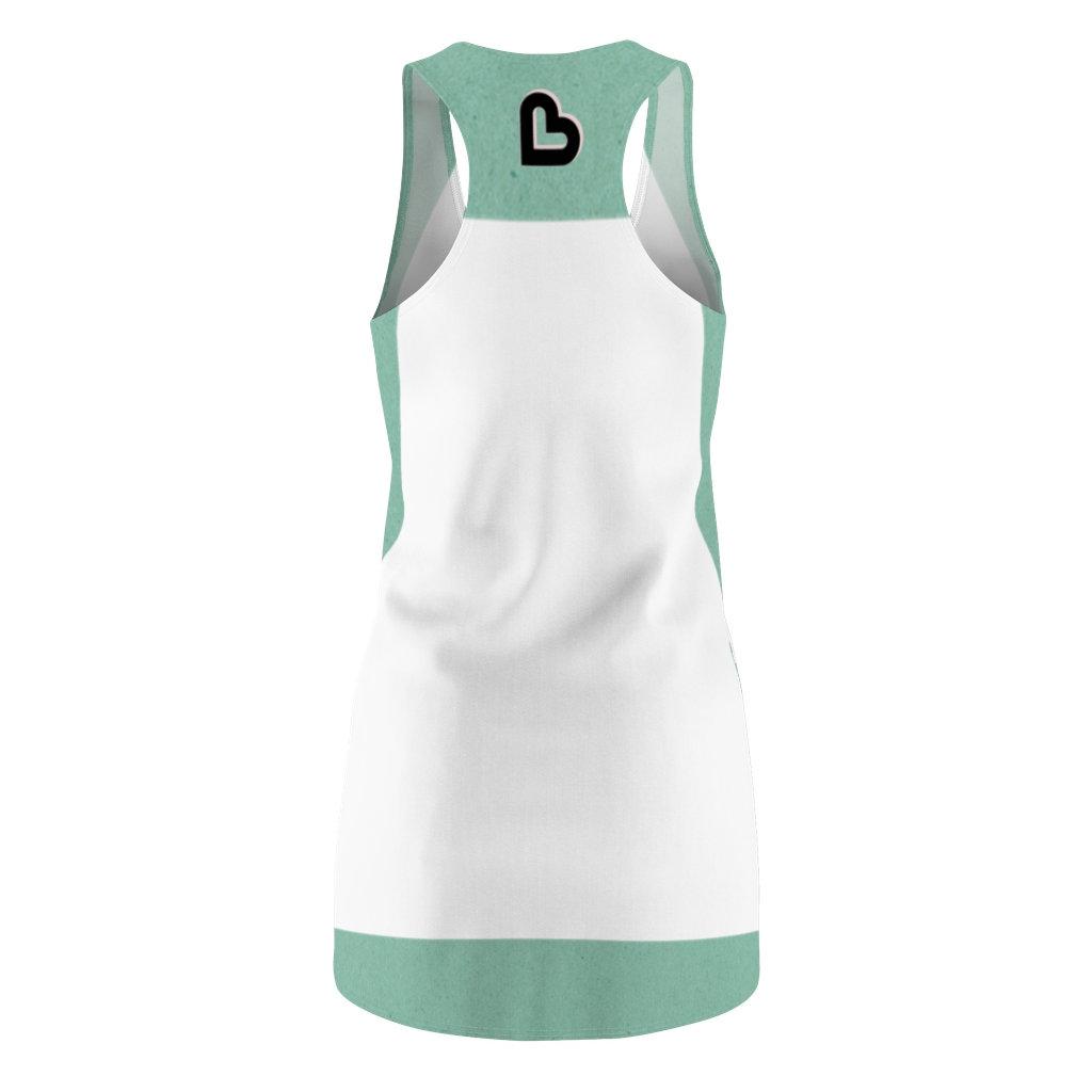 Baby on board Women/'s Cut /& Sew Racerback Dress Beach Dress