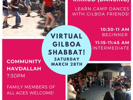 Gilboa This Week: Shabbat & RBG Storytime