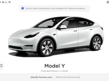 Model Y likely Australian cost, gulp!