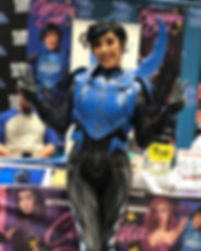 Blue Beetle was a hit at _planetcomicono