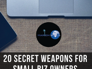 20 Secret Weapons for Small Biz Owners