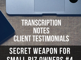 Secret Weapon for Small Biz Owners #4