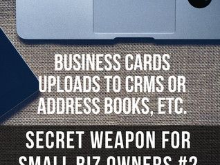 Secret Weapon for Small Biz Owners ~ #2