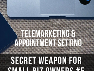 Secret Weapon for Small Biz Owners #5