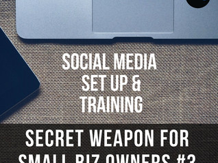 Secret Weapon for Small Biz Owners ~ #3