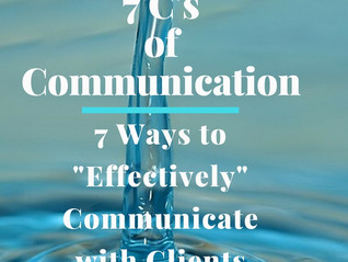 7 Ways to Communicate with Clients