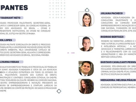 WEBINAR SOBRE O NOVO PROVIMENTO E O MARKETING JURÍDICO