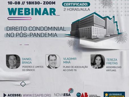Semana de Atualização Jurídica - Direito Condominial No Pós Pandemia