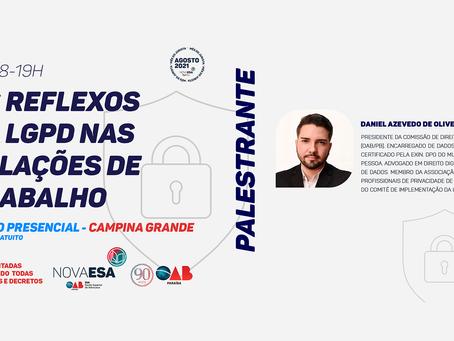 31/08 - OS REFLEXOS DA LGPS NAS RELAÇÕES DE TRABALHO