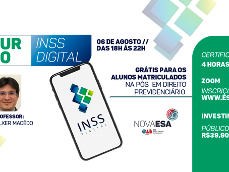 Curso INSS Digital
