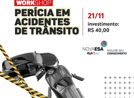 Workshop de Perícia em Acidentes de Trânsito
