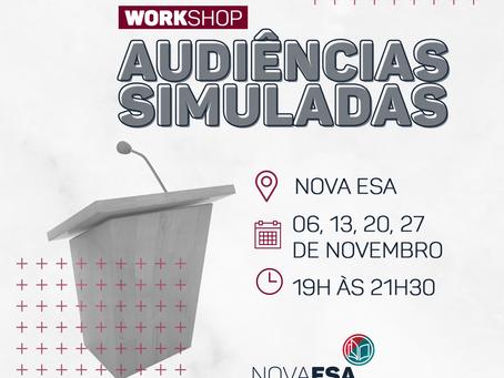 Workshop - Audiências Simuladas