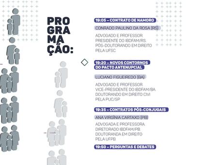 Webinar- Planejamento Patrimonial e Existencial no Direito das Famílias.